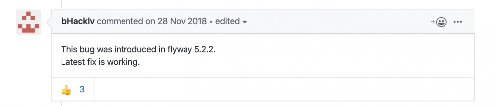 Flyway 执行报错: 'user_variables_by_thread' 表没有SELECT权限问题
