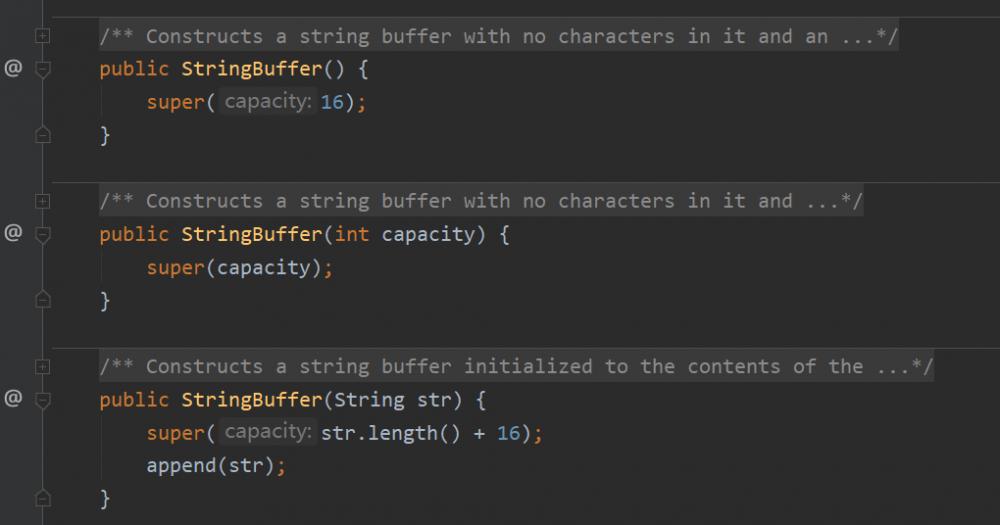 简单了解StringBuffer内部情况