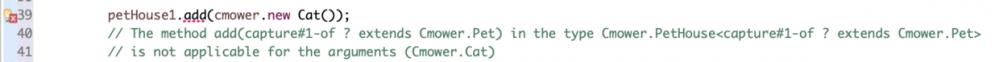 Java泛型的重要目的:别让猫别站在狗队里