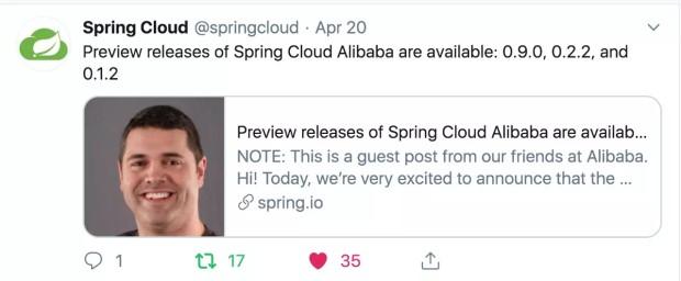 "Spring Cloud Alibaba 从孵化到 ""挂牌"" 之旅"