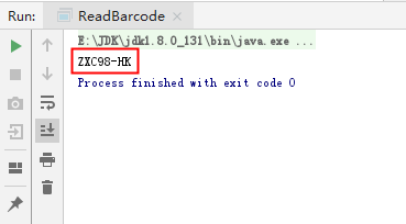 Java 生成、识别条形码