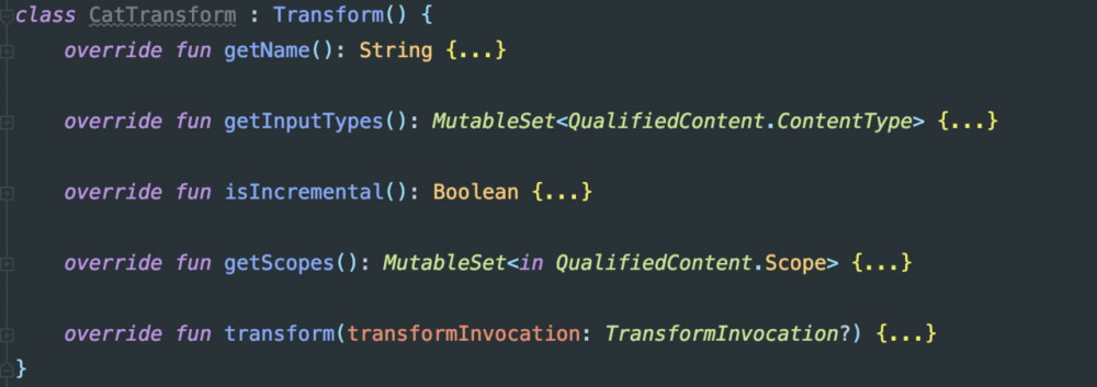 Gradle Transform + ASM 探索