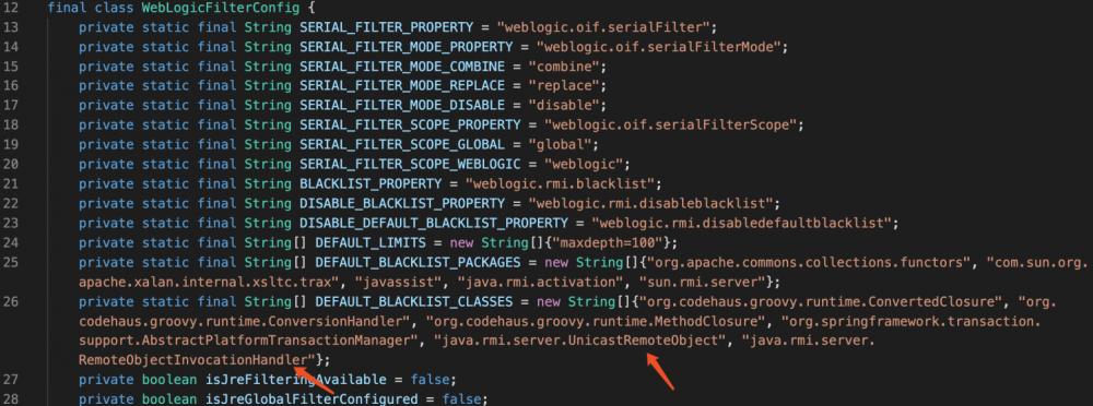 weblogic历史T3反序列化漏洞及补丁梳理