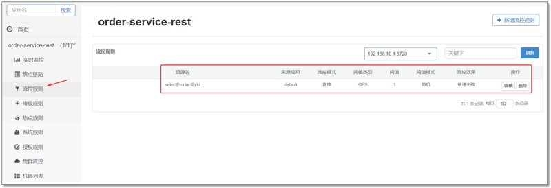 Spring Cloud 系列之 Alibaba Sentinel 服务哨兵