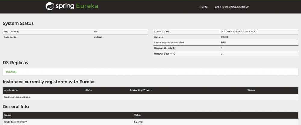 服务发现组件之 — Eureka