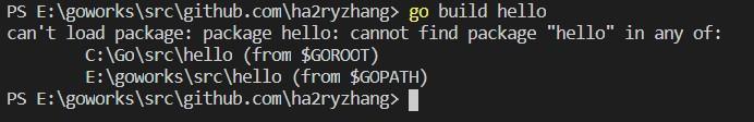 给Java程序员的Go私房菜(二) Hello Golang