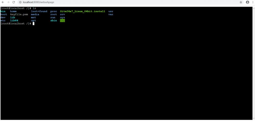 使用纯Java实现一个WebSSH项目