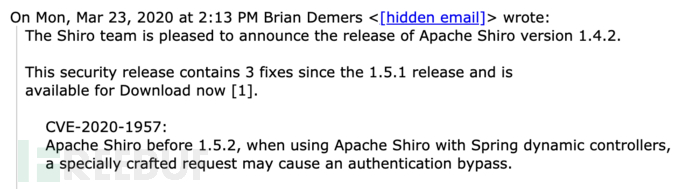 Shiro权限绕过漏洞分析(CVE-2020-2957)