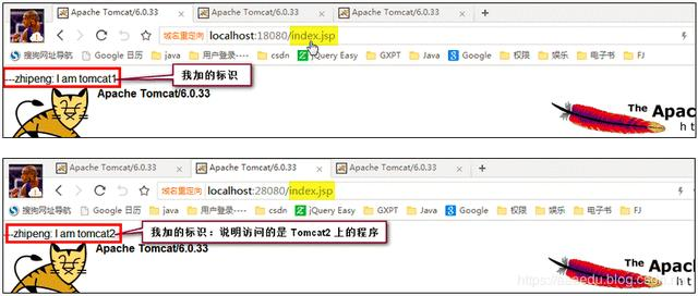 Windows环境下搭建简单Nginx+Tomcat集群
