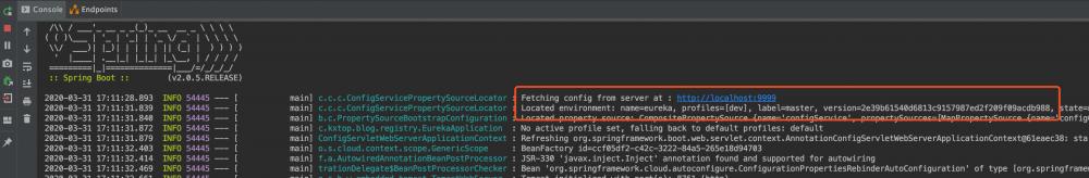 微服务实战——高可用的SpringCloudConfig