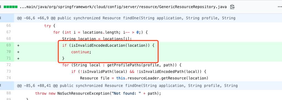 spring-cloud-config-server 路径穿越漏洞分析【CVE-2020-5405】