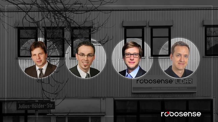 来自Bosch 等全球顶级Tier1的激光雷达博士团队加入RoboSense