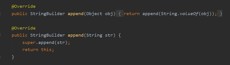 String、StringBuffer和StringBuilder的区别