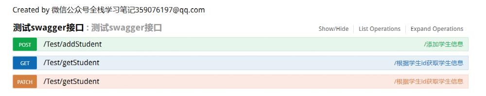 Springboot系列(七) 集成接口文档swagger,使用,测试