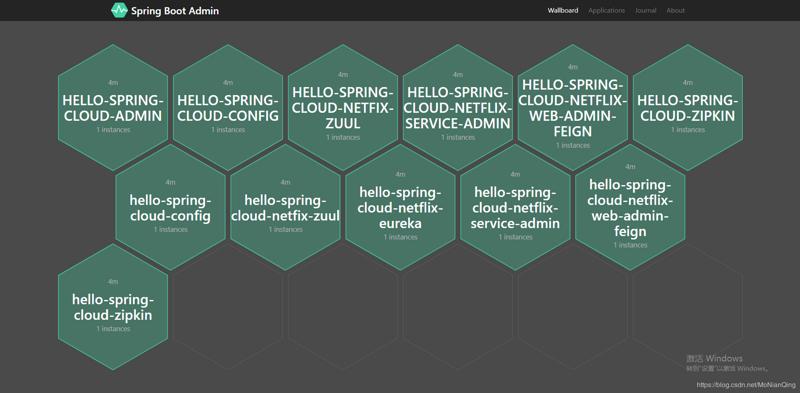 使用 Spring Boot Admin 监控服务