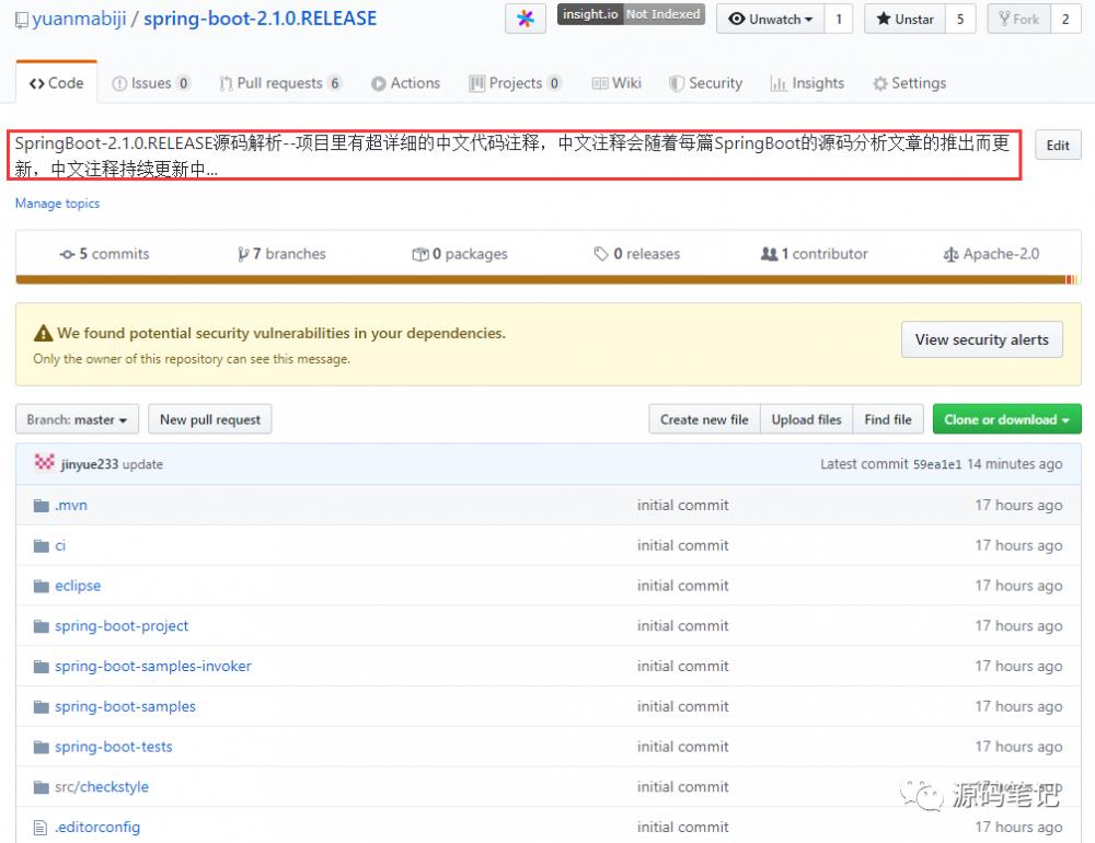 超赞!推荐一个专注于Java后端源码分析的Github项目!