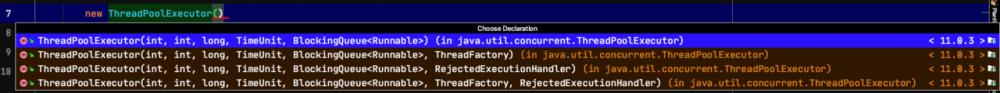 Java中线程池实现的两种方式