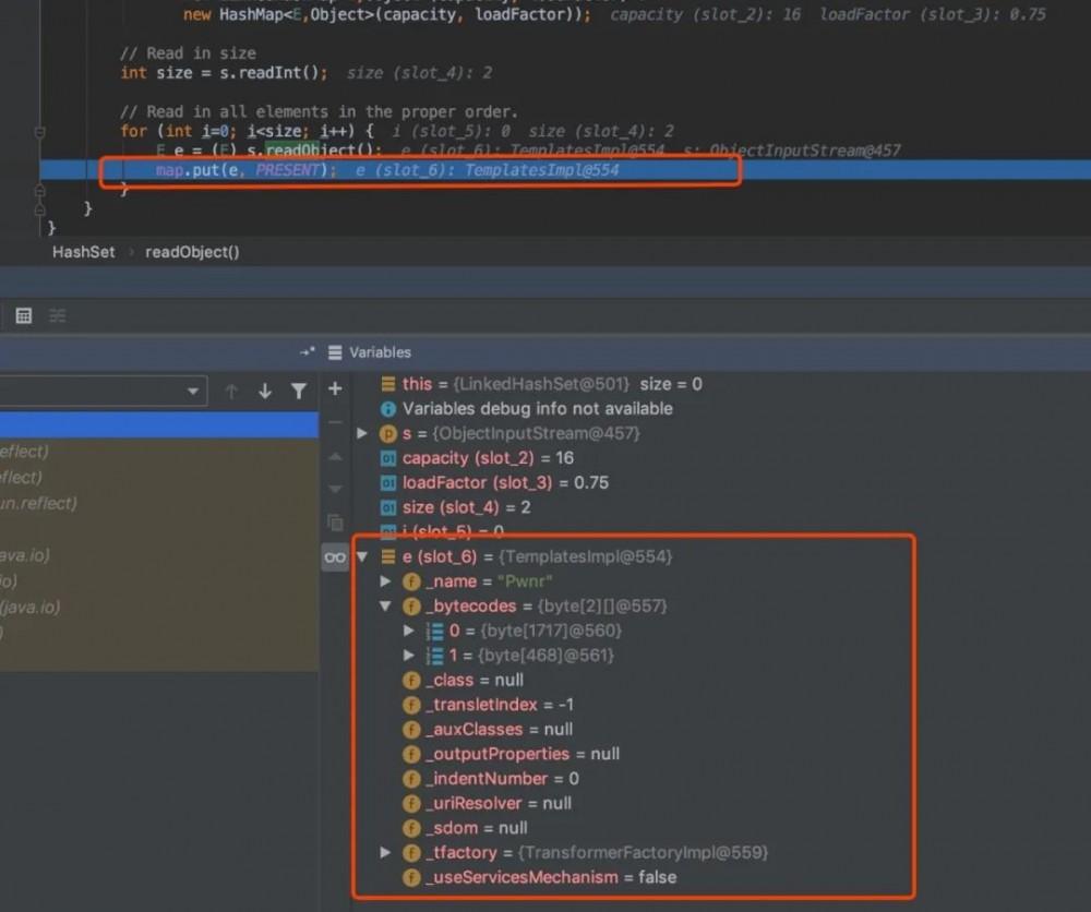 JDK7u21调用链分析