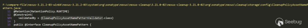 Nexus Repository Manager 3 几次表达式解析漏洞