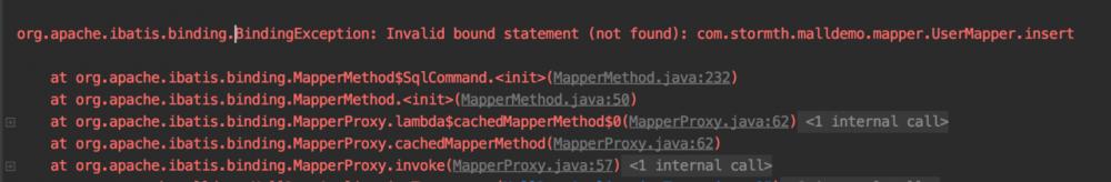 Spring Boot集成MyBatis报错:Invalid bound statement (not found)...解决方案