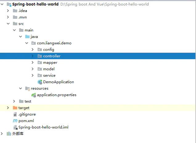 Spring Boot + Vue.js 实现前后端分离(附源码)