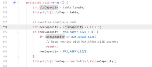 从JDK源码学习HashSet和HashTable