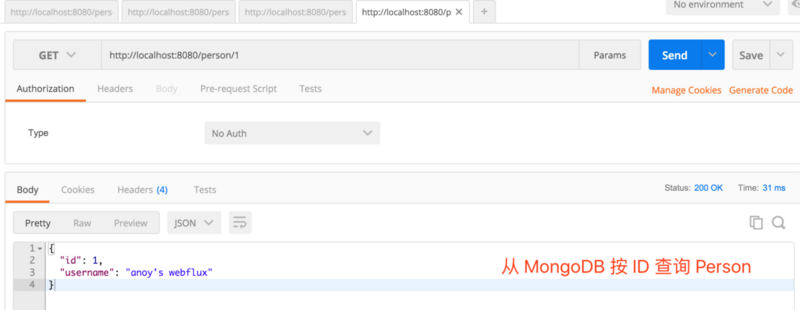 基于 Spring Boot 2.0 的实践: WebFlux 集成 MongoDB