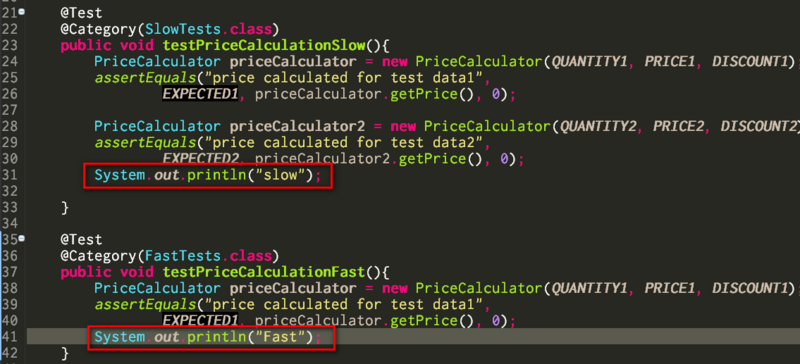 Java JUnit框架里@Category注解的工作原理
