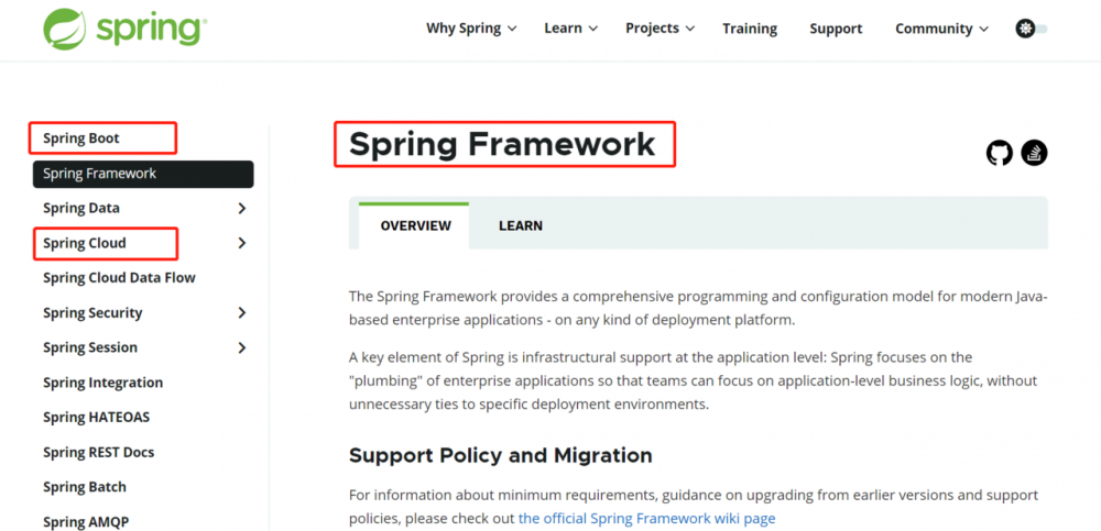 Spring、SpringBoot、SpringCloud的关系