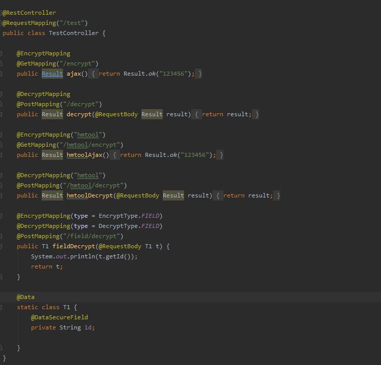hmtool 1.6.2 已发布,新增数据加解密