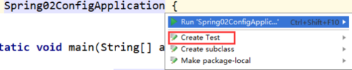 自动配置的Springboot内junit测试单元不能运行