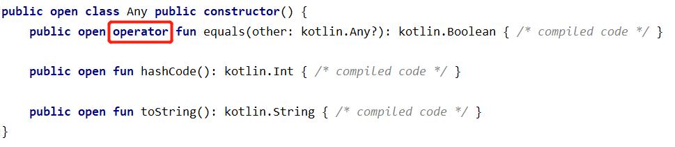 Java转Kotlin:操作符重载案例