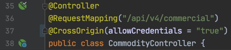 Springboot 1.0 升级到 Springboot 2.0 @CrossOrigin 跨域问题