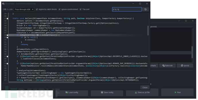 Threadtear:一款多功能Java代码反混淆工具套件