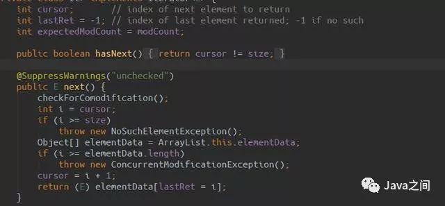 为什么ArrayList集合中不能使用foreach增删改?