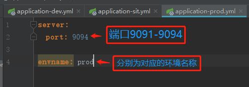 springboot 多环境配置 yml文件版