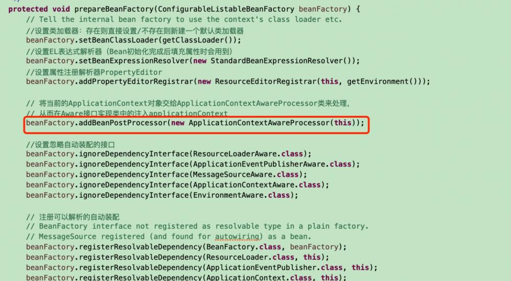 深入理解Spring IOC之扩展篇(四)、Aware接口