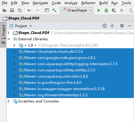 Java 在PDF中绘制形状(基于Spire.Cloud.SDK for Java)