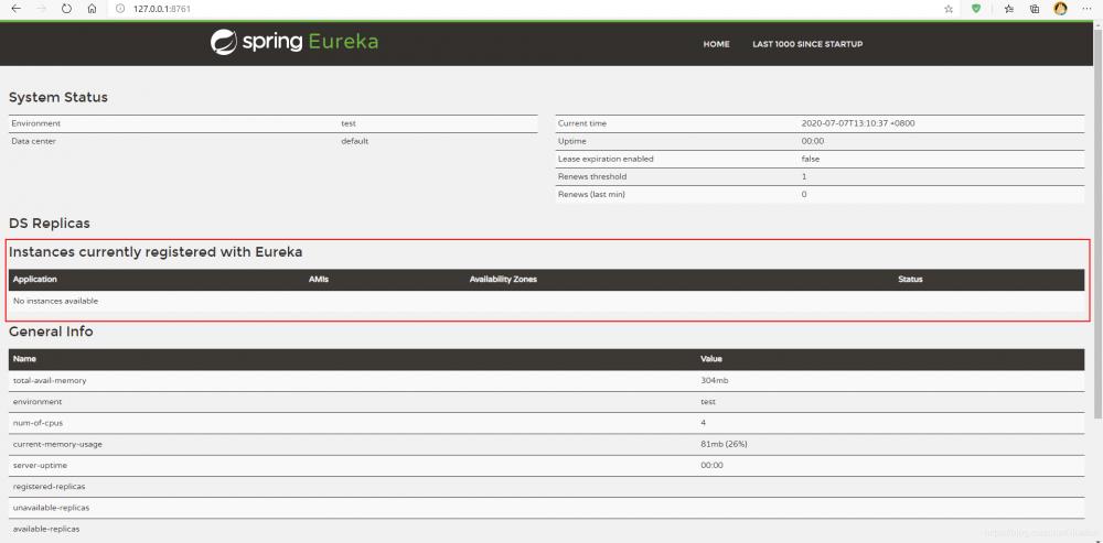 个人学习系列 - SpringCloud项目搭建