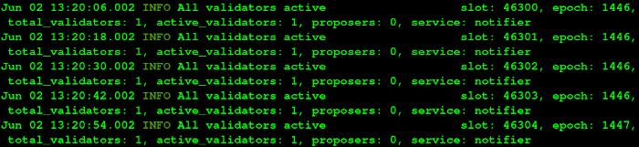 教程 | 使用 Nethermind 客户端和 Lighthouse 运行以太坊 2.0 测试网的验证者
