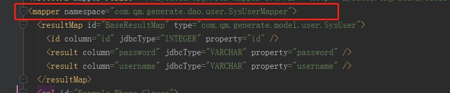 自定义Mybatis自动生成代码规则