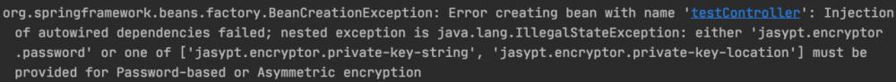SpringBoot 使用 jasypt 对配置项进行加密