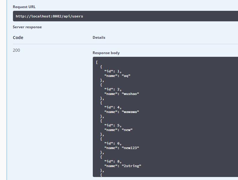 前端初学SpringBoot系列(二)使用mybatis完成数据库的查询