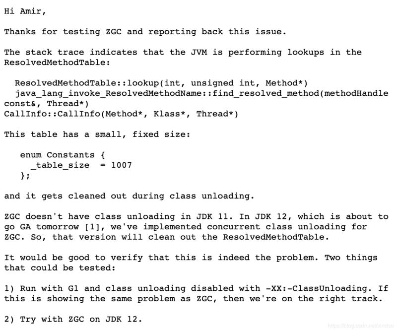 JDK11现存性能bug(JDK-8221393)深度解析