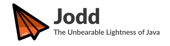 Jodd 5.1.5发布,Java 常用工具包