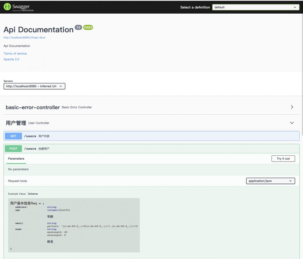 Spring Boot 2.x基础教程:使用SpringFox 3生成Swagger文档