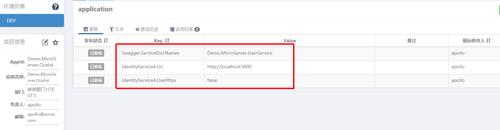 微服务框架Demo.MicroServer运行手册