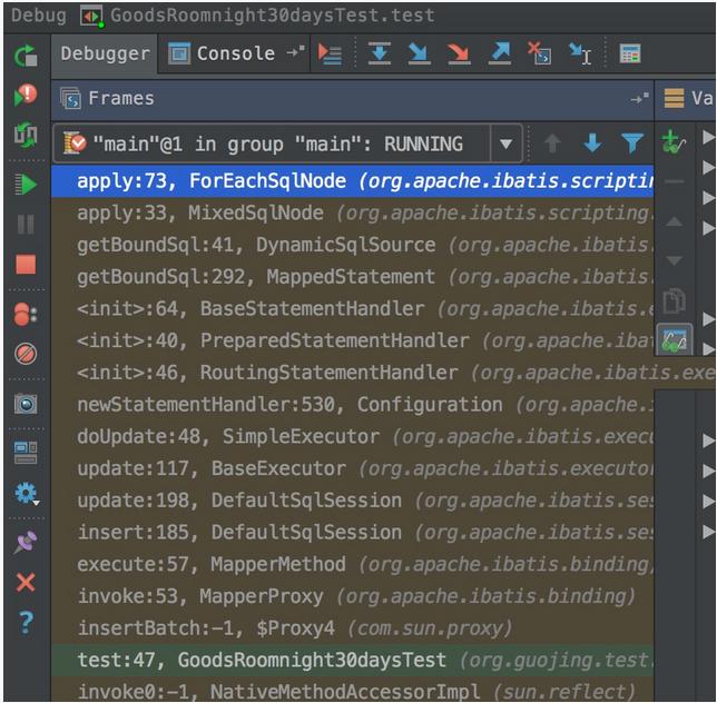 Mybaits 实现打印sql语句的代码