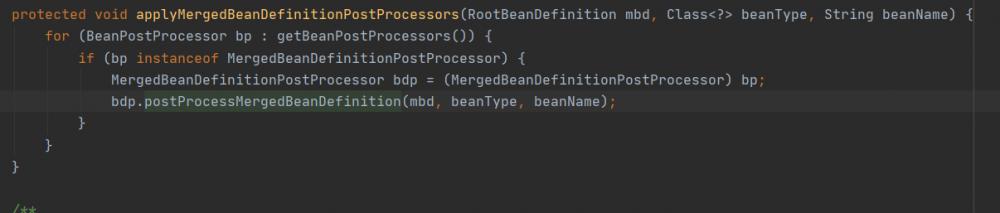 Spring IOC 源码解析(四),Bean 的依赖注入和初始化